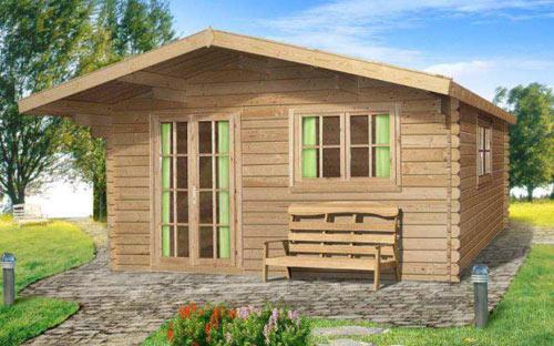 Каркасный дачный домик под ключ недорого фото
