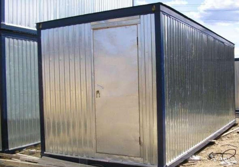 Металлический блок контейнер