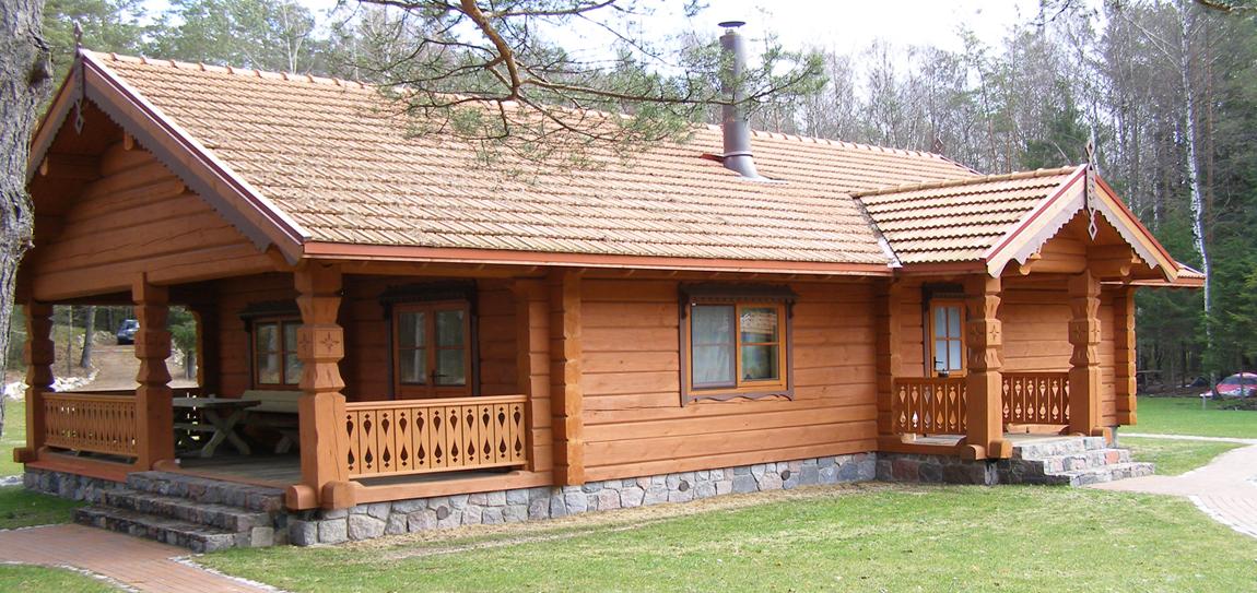 Баня-дом из бруса