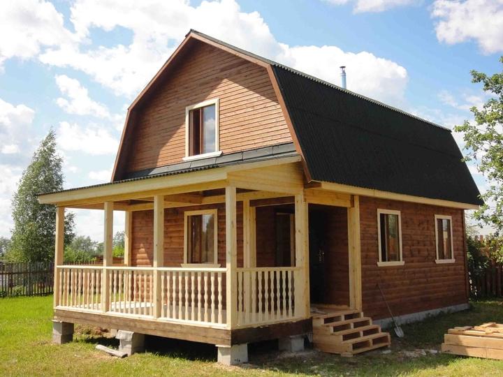 Каркасные дачные домики под ключ цена фото