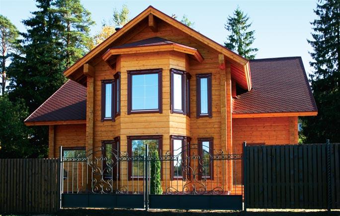 Проекты домов из клееного бруса двухэтажные фото