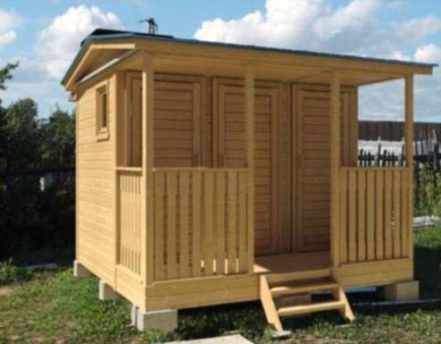 Летний душ с туалетом на даче своими руками фото и размеры