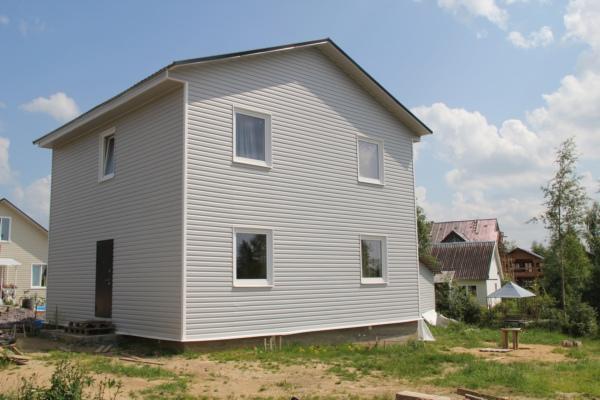 Сколько стоит построить дом каркасно щитовой своими руками