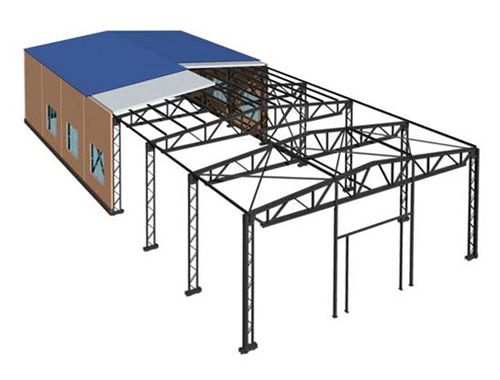 Строительство зданий из металлоконструкций своими руками