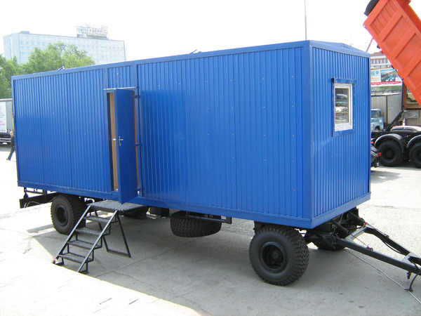 фото дачном вагончик на участке