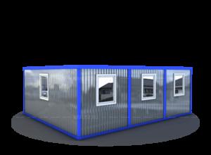 Завод мобильных зданий фото