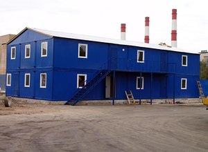 Блок контейнеры модульные здания