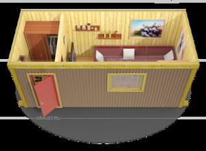 Вагончики деревянные для жилья фото