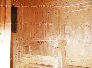 Технология строительства бани фото