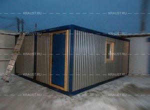 Спецификация строительной бытовки фото