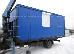 Фургон бытовка фото