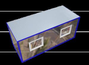 Блок контейнер для генератора фото