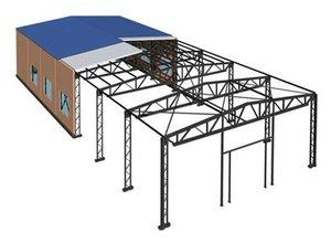 Модульные здания чертежи схема