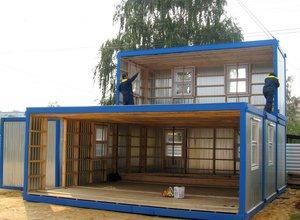 Производство мобильных зданий фотография