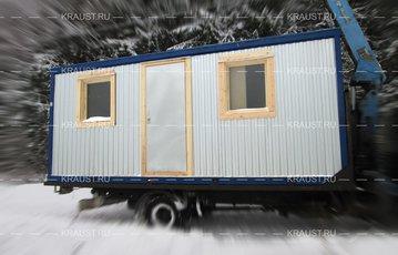 Блок контейнер БК-04 ДВП п. Назарьево
