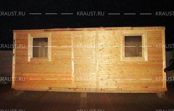 Бытовка деревянная г. Коломна фото