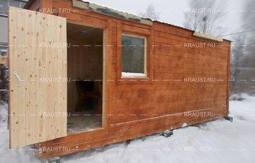 Деревянная баня г. Королев