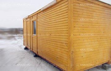 Деревянная бытовка г.Егорьевск фото