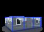 Модульное здание 3 удобных блока изображение