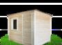 Бытовка-хозблок 3х2,3м из дерева для дачи изображение