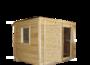 Бытовка-хозблок 3х2,3м двухскционный склад изображение
