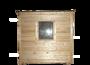 Бытовка-хозблок 3х2,3м двухскционный для дачи изображение