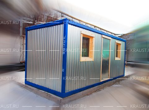 Блок-контейнер БК-04 ДВП фото