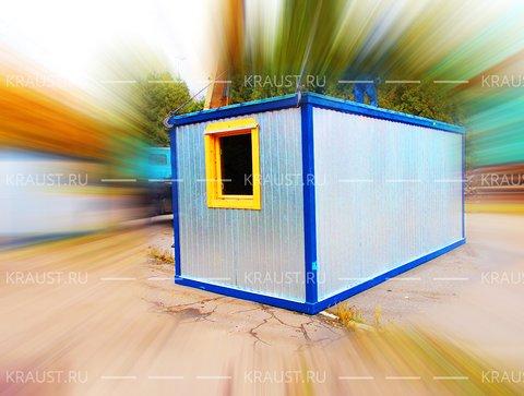 Блок контейнер г.Апрелевка окно