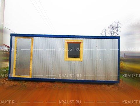 Бытовка металлическая деревня Назарьево фото
