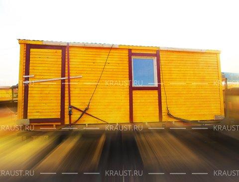Деревянная бытовка, г. Пушкино фото