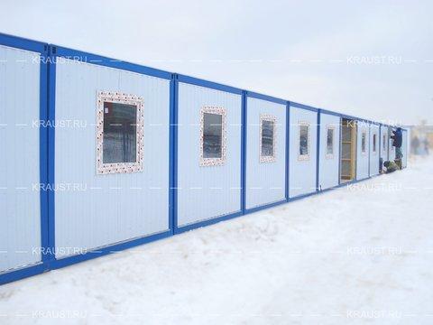 Модульное здание Краус на 60 человек