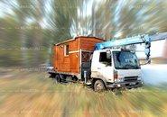 Модульная мобильная баня Сергиев Посад фото