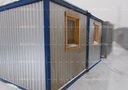 Модульное здание из 2 БК00 с пластиковой отделкой г. Красноармейск