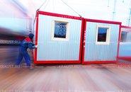 Модульный городок из ЭБК 01 г. Электросталь фото
