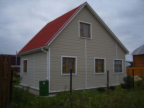 Дешевые каркасные домики фото