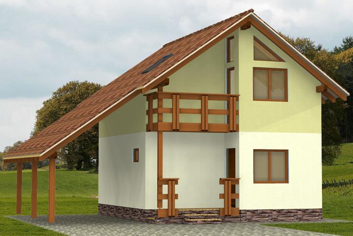 Дешевые каркасные дома под ключ фото