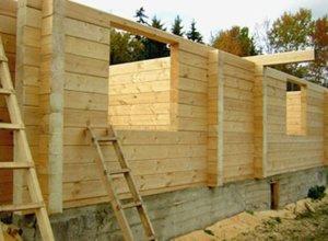 Строительство домов из строганного бруса