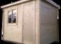 Бытовка-хозблок 3х2,3м деревянный фотография