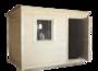 Бытовка-хозблок 3х2,3м для чулана брусовый фото