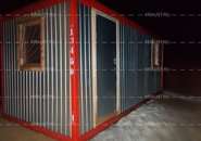 Блок контейнер ЭБК-01 с дополнительным окном г. Истра
