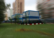 Блок контейнеры Краус Волгоградский проспект