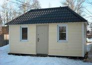 Дом из двух блок контейнеров фото