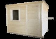 Бытовка деревянная дешево фото