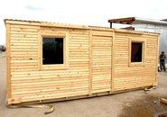 Купить бытовку деревянную недорого фото