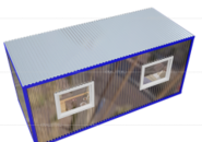 Блок контейнер для оборудования фото